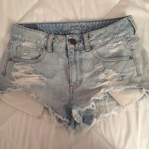 American Eagle Outfitters High-Rise Shorts